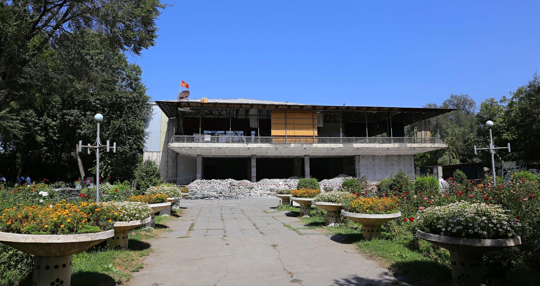 Ош шаарындагы Бабур театры 5 млн долларга оңдолот